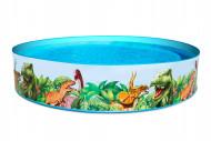 BESTWAY baseinas Dinosaur Fill'N Fun 2.44m x H46cm, 55001 55001