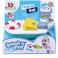 BB JUNIOR vonios žaislas Splash 'N Play Twist & Sail, 16-89002 16-89002