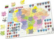 LARSEN dėlionė Lithuania Political, LT, AR3 AR3