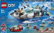 60277 LEGO® City Police Policijos gelbėtojų laivas 60277