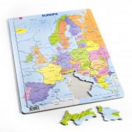 LARSEN dėlionė Europos politinis žemėlapis, A8-LT/A8-EE