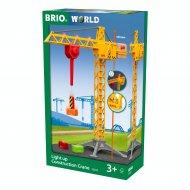 BRIO statybinis kranas su šviesomis, 33835 33835