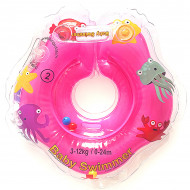 BABY SWIMMER plaukimo ratas kūdikiams ant kaklo 3-12 kg 0-24m BS 01 BS 01
