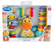 PLAYGRO žaislas žirafa Jerry, dovanų pakuotė, 0187223 0187223