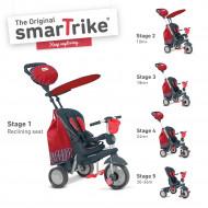 SMART TRIKE triratukas Splash red, 6800500 6800500