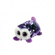 TY Teeny Tys sequin pelėda violetinė MOONLIGHT, TY42410