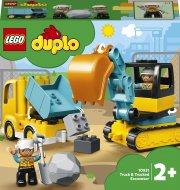 10931 LEGO® DUPLO Town Sunkvežimis ir vikšrinis ekskavatorius 10931