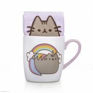 PUSHEEN rinkinys Unicorn (puodelis + kojinės), PUSHSMUNI PUSHSMUNI