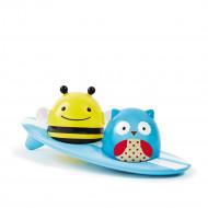 SKIP HOP Vonios žaislas Gyvūnėliai banglentininkai, 235356 235356