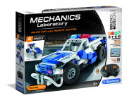 CLEMENTONI MECHANICS Konstruktorius Police RC car, 61874 61874