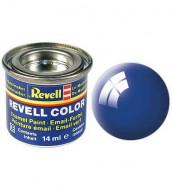 Revell dažai emaliniai 14ml mėlyni blizgūs 32152