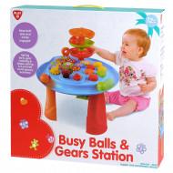 PLAYGO INFANT&TODDLER žaidimų stalas Busy Balls & Gears Station, 2940 2940