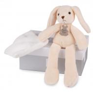 DOUDOU ET COMPAGNIE pliušinis žaislas (pelytė, triušiukas, meškiukas) 3 asort, 30 cm, HO2315 HO2315