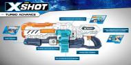 XSHOT žaislinis šautuvas Turbo Advance, 36136 36136