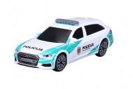 BBURAGO 1:43 automodelis Audi A6 Avant Lietuvos policija, su šviesom ir garsu, 18-31053 18-31053