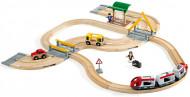 BRIO kelių ir geležinkelių rinkinys, 33209 33209