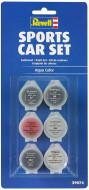REVELL vandens dažų rinkinys Sportinis automobilis 6x5 ml, 39074 39074