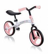 GLOBBER balansinis dviratis Go Bike Duo, pastelinė rožinė, 614-210 614-210