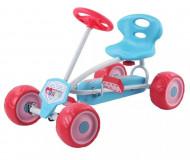 HAUCK Keturratis pedalinis rožinis Turbo - Go Cart, T85560 T85560