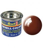 Revell dažai emaliniai mud 14ml rudi blizgūs 32180