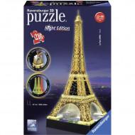 RAVENSBURGER dėlionė 216d. Eiffel Tower-Night, 125791 125791