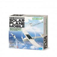 4M kūrybinis rinkinys Saulės energija varomas lėktuvas, 00-03376 00-03376