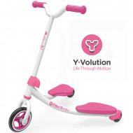 YVOLUTION paspirtukas  YFliker J2 Junior, rožinis, 100047 100047