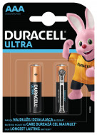 DURACELL baterijos Ultra AAA, 2 vnt., DURB081 DURB081