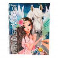 TOPMODEL spalvinimo knyga Fantasy Model, 10127 10127