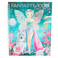 TOPMODEL knyga su lipdukais Fantasy Dress Me Up, 8755/10445 8755