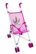 BAMBOLINA lėlės vežimėlis su vienaragio atvaizdais Amore, BD1852 BD1852