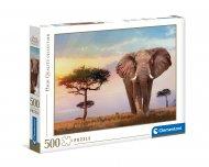 CLEMENTONI dėlionė African Sunset, 500d., 35096 35096