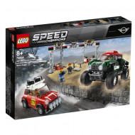 75894 LEGO® Speed Champions 1967 Mini Cooper S Rally ir 2018 MINI John Cooper Works Buggy 75894