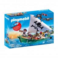 PLAYMOBIL PIRATES Piratų laivas su povandeniniu motoru, 70151 70151