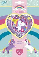 TOTUM lipdukų rinkinys Unicorn Sticker Book, 4 lipdukų lapai, 071117 71117