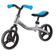 GLOBBER balansinis dviratis Go Bike sidabrinis/mėlynas, 610-190 610-190