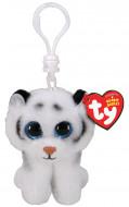 TY Beanie Boos pliušinis pakabukas baltas tigras TUNDRA 9cm, TY35234 TY35234