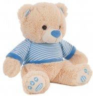 LLOPIS pliušinis meškinas 55 cm mėlynas., 10573 10573