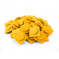 UPIXEL kuprinės dekoravimo detalės Middle yellow (small), WY-Z002