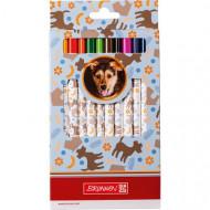 Spalvoti pieštukai Dog 12 vnt, 1029856541 1029856541