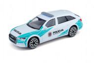 BBURAGO 1:43 automodelis Audi A6 Avant Lietuvos policija, 18-30415 18-30415