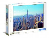 CLEMENTONI Dėlionė New York 2000pcs., 32544 32544