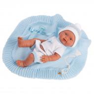 LLORENS lėlė Bebito Toquilla Azul 26 cm, 26305 26305