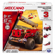 MECCANO konstruktorius 3 Model Set - Rescue Car, 6026714