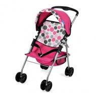 HAUCK vežimėlis lėlei sportinis Pink Dot, D83123, D83109 D83109
