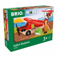 BRIO lėktuvas Safari Airplane, 33963 33963