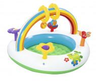 BESTWAY  žaidimų baseinas  Rainbow Go & Grow Activity Gym 91x 56cm, 52239 52239