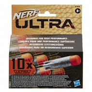 NERF šoviniai Ultra Dart Refill, 10vnt., E7958EU4 E7958EU4