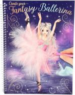 TOPMODEL spalvinimo knyga Ballet, 10195 10195
