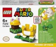 71372 LEGO® Super Mario™ Katino Mario galios paketas 71372